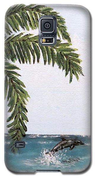 Tropical Paradise Galaxy S5 Case