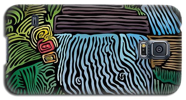 Tropical River Galaxy S5 Case