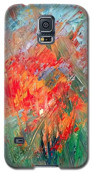 Tropical Stained Glass Galaxy S5 Case