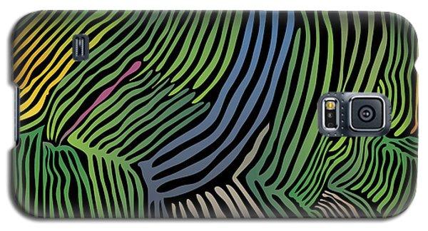 Tropical Striations Galaxy S5 Case