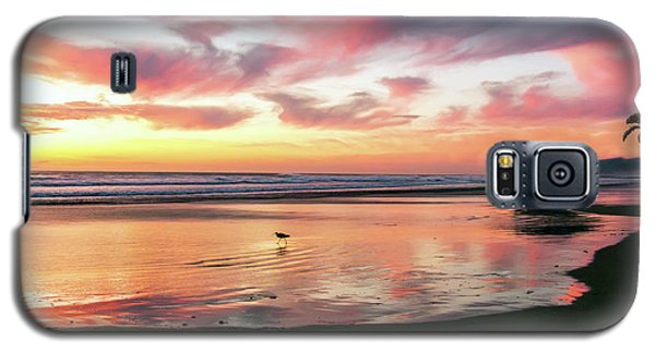 Tropical Sunset Island Bliss Seascape C8 Galaxy S5 Case