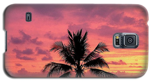 Tropical Sunset Galaxy S5 Case by Karen Nicholson