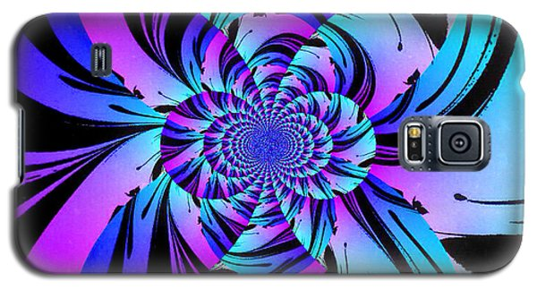 Galaxy S5 Case featuring the digital art Tropical Transformation by Kathy Kelly