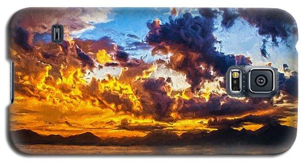 Tropical Twilight I Galaxy S5 Case