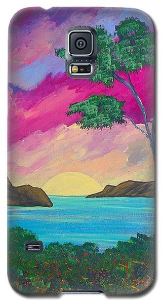 Tropical Volcano Galaxy S5 Case