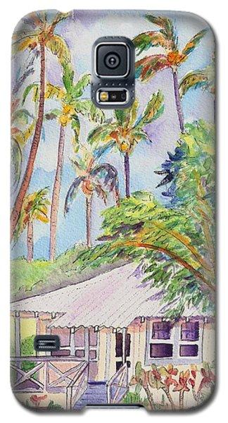 Tropical Waimea Cottage Galaxy S5 Case