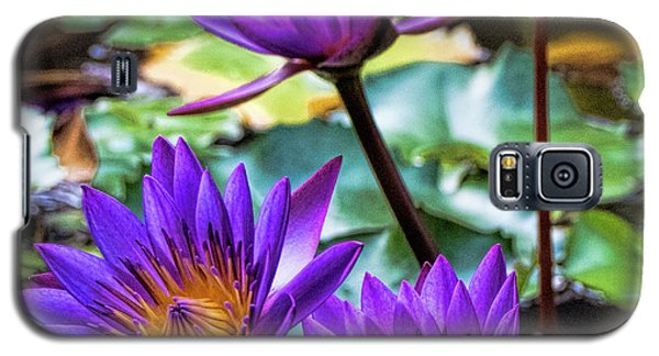 Tropical Water Lilies Galaxy S5 Case