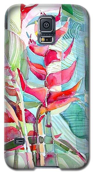 Tropicana Red Galaxy S5 Case