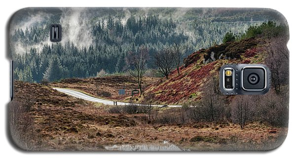 Galaxy S5 Case featuring the photograph Trossachs National Park In Scotland by Jeremy Lavender Photography