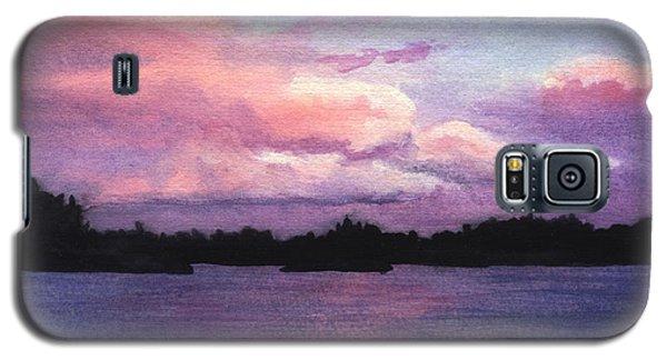Trout Lake Sunset I Galaxy S5 Case