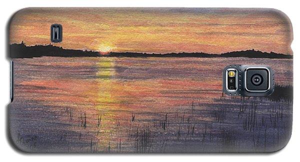 Trout Lake Sunset II Galaxy S5 Case