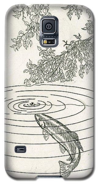 Trout Rising To Dry Fly Galaxy S5 Case