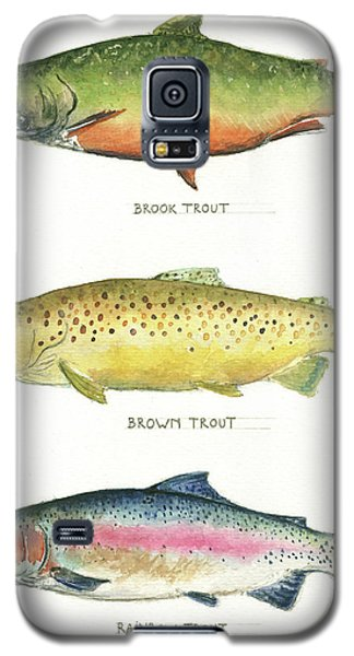 Trout Galaxy S5 Case - Trout Species by Juan Bosco