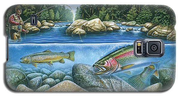 Trout View Galaxy S5 Case by JQ Licensing