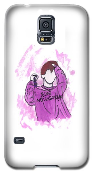 Troye Sivan Blue Neighborhood Galaxy S5 Case