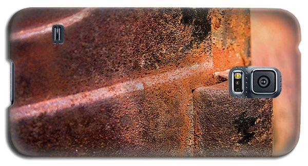 Galaxy S5 Case featuring the photograph Truck Door Hinge by Onyonet  Photo Studios