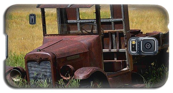 Truck Long Gone Galaxy S5 Case by Kae Cheatham