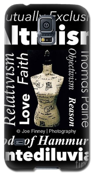 Galaxy S5 Case featuring the photograph True Altruism - No.9188 by Joe Finney