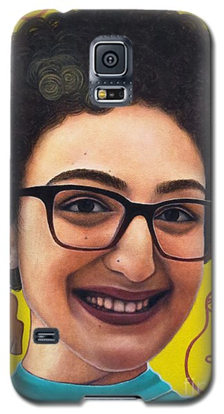 Galaxy S5 Case featuring the painting True Beauty - Sheba Devonish by Malinda Prudhomme