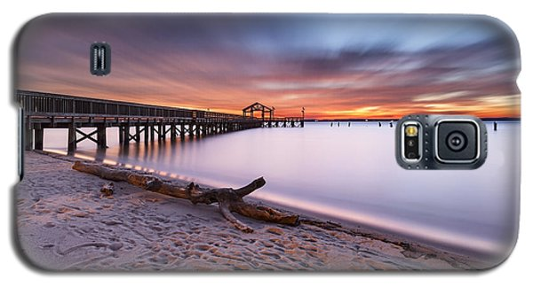 Galaxy S5 Case featuring the photograph True Blue by Edward Kreis