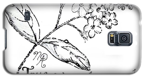 True Forget-me-not Galaxy S5 Case