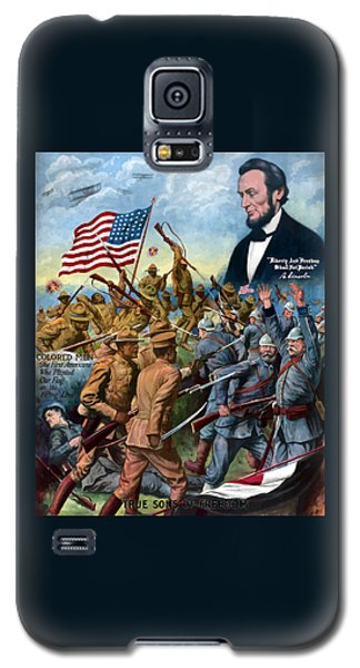 True Sons Of Freedom -- Ww1 Propaganda Galaxy S5 Case by War Is Hell Store