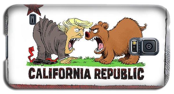 Trump And California Face Off Galaxy S5 Case
