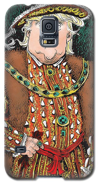 Trump As King Henry Viii Galaxy S5 Case
