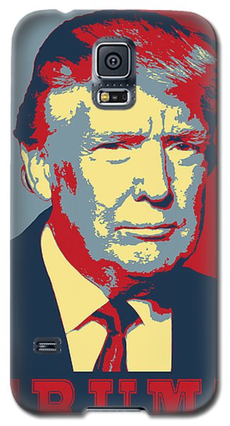 Trump Pop Art  Galaxy S5 Case by Daniel Hagerman