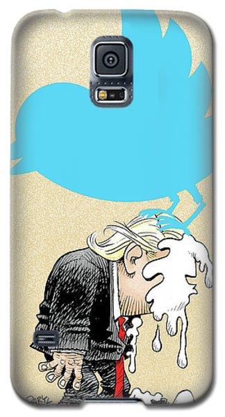 Trump Twitter Poop Galaxy S5 Case