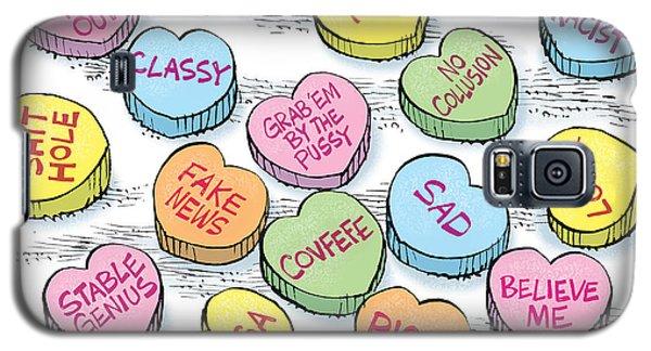 Trump Valentines Candy Uncensored Galaxy S5 Case