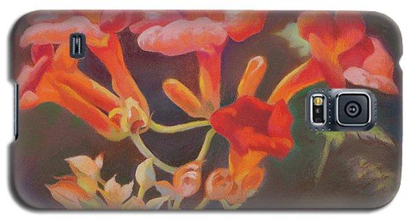 Trumpet Flowers Galaxy S5 Case