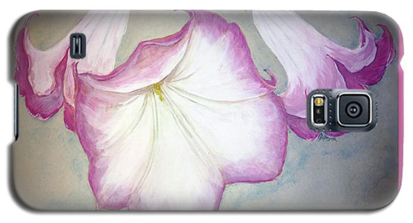 Trumpet Lilies Galaxy S5 Case
