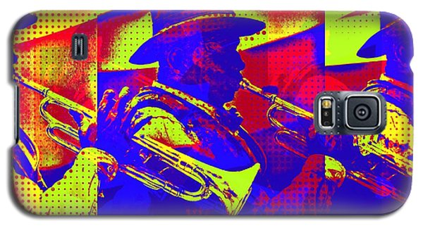 Trumpet Player Pop-art Galaxy S5 Case
