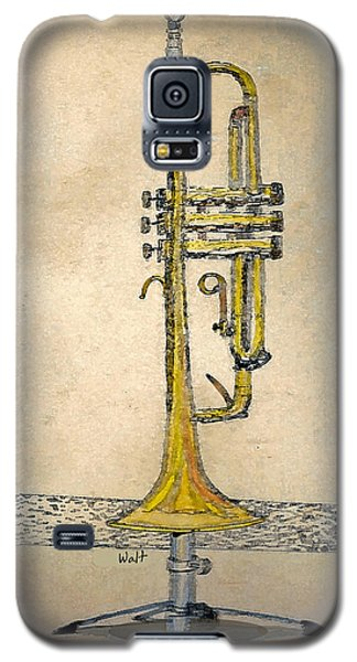 Trumpet Galaxy S5 Case by Walter Chamberlain