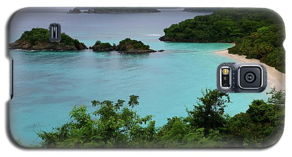 Trunk Bay At U.s. Virgin Islands National Park Galaxy S5 Case