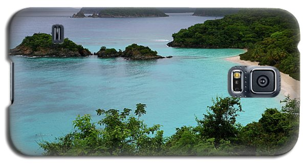 Galaxy S5 Case featuring the photograph Trunk Bay At U.s. Virgin Islands National Park by Jetson Nguyen