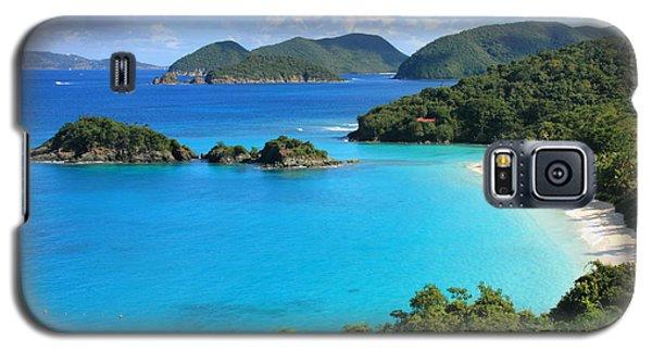 Trunk Bay St. John Galaxy S5 Case