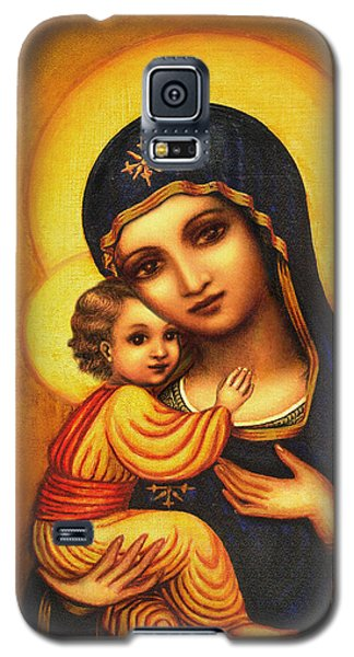 Tryptichon Madonna Galaxy S5 Case by Ananda Vdovic