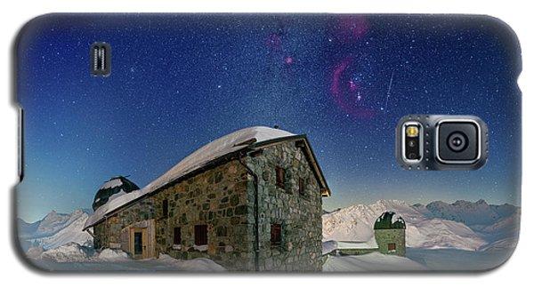 Tschuggen Observatory Galaxy S5 Case