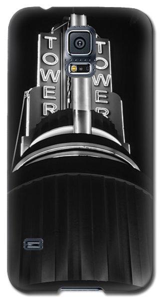 Ttower Theatre  Black And White Galaxy S5 Case