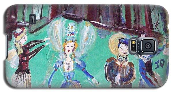 Tudor Fairies Galaxy S5 Case by Judith Desrosiers