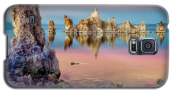 Galaxy S5 Case featuring the photograph Tufas At Mono Lake by Rikk Flohr