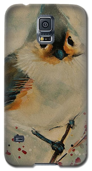Tufted Blue Titmouse Galaxy S5 Case