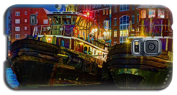 Tug Boat Alley 026 Galaxy S5 Case