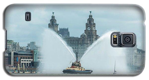Tug Boat Fountain Galaxy S5 Case