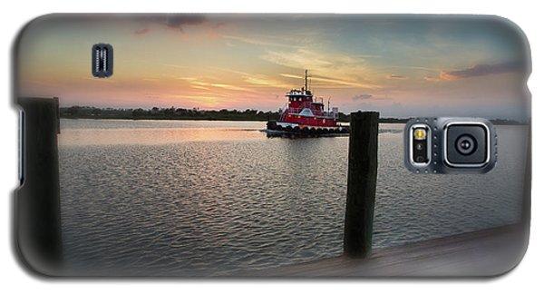Tug Boat Sunset Galaxy S5 Case
