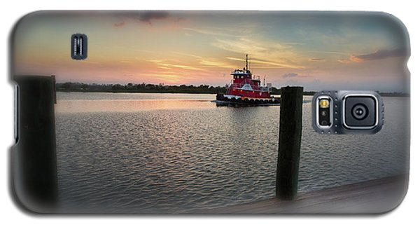 Tug Boat Sunset Galaxy S5 Case