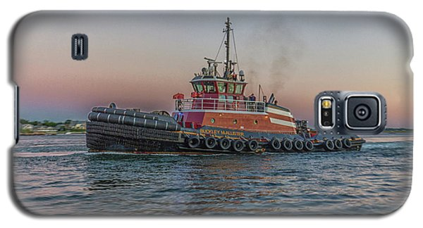 Tugboat Buckley Mcallister At Sunset Galaxy S5 Case