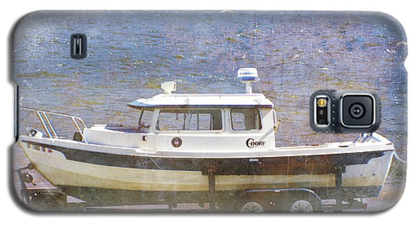 Galaxy S5 Case featuring the painting Tugboat by Cynthia Powell